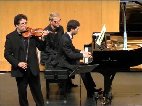 With Marco Rizzi  - Strauss: Violin and piano Sonata